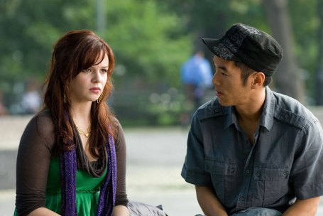 Amber's boyfriend in the film. Not once do they mention that he's asian. Hallelujah!